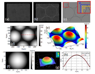 Applications to micro-optics characterization
